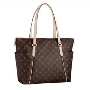 LOUIS VUITTON Totally MM NM Monogram Canvas Tote
